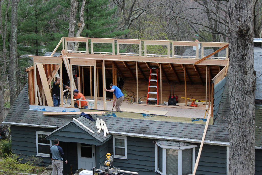 Modeling The House And Raising Roof In A Day No Small Plans
