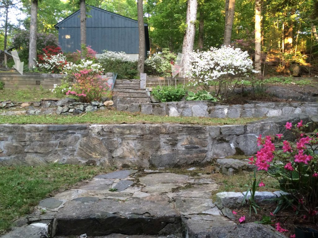 Building The Outdoor Fireplace And Patio No Small Plans